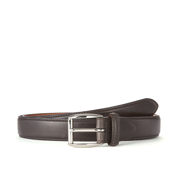 Dk brown Bridle Leather (Silver Buckle)