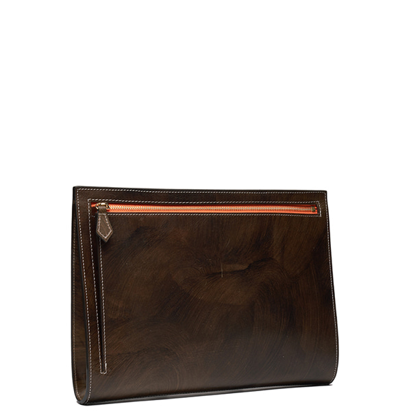 AP003 Clutch bag Patina Brown